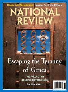 Front page of National Review